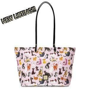 DOONEY AND BOURKE DISNEY CATS TOTE